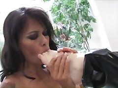 Ribald pussy paramours Dana Vespoli and Karlie Montana