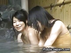 Sexy Asian hottie is drilled in the hot spring 5 by PublicJapan