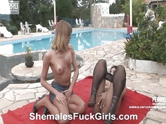 Bia&Anita shemale dicking beauty on video