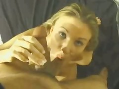This whore's lengthy skilful tongue gives man with camera in his hands lots of incredible sexy feelings.