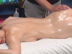 Gia seduced and screwed by her massage therapist on hidden camera