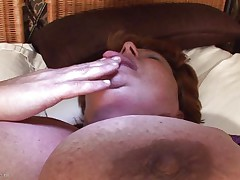 Brigit is one of these massive granny women that could swallow a sextoy like a candy bar. This babe is masturbating and inserts that sex toy in her vagina all the way in making sure that babe has it inside. Her fat cunt receives it with no problems and now that babe can have a fun herself. This babe is massive but her sex drive is even bigger then her.
