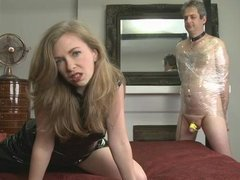 Cum-Eating Cuckold slave