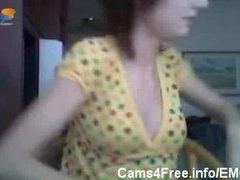 Cam: EMO Mamma Catches Hot Legal age teenager Hotty Sucking Cock