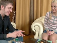 Immoral golden-haired playgirl is a slutty amateur slut. That Babe is given the hottest anal lesson until explosion in a-hole hole from the ardent youthful dude.